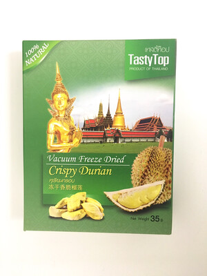 TASTY TOP CRISPY DURIAN 24X35G