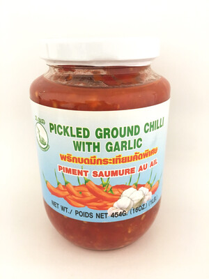 PHOENIX PICKLED GROUND CHILI WITH GARLIC 24X16OZ