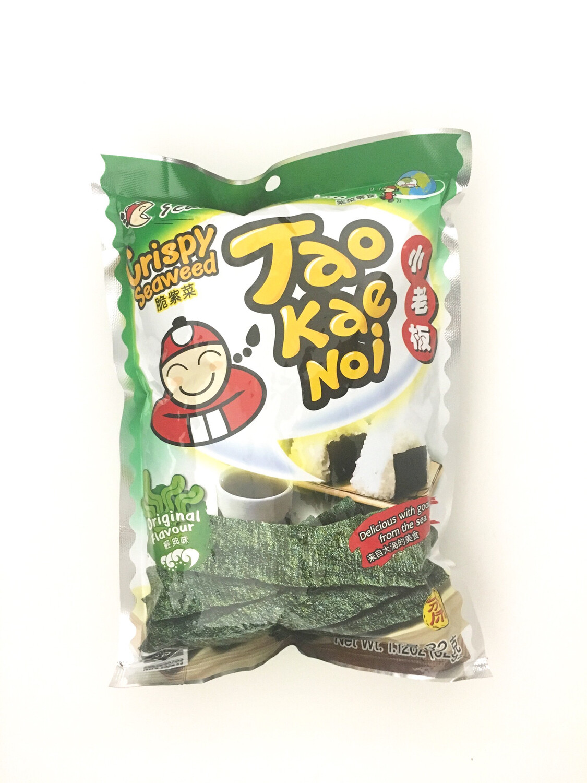 TAO KAE NOI CRISPY SEAWEED (ORIGINAL FLAVOUR) 24X32G