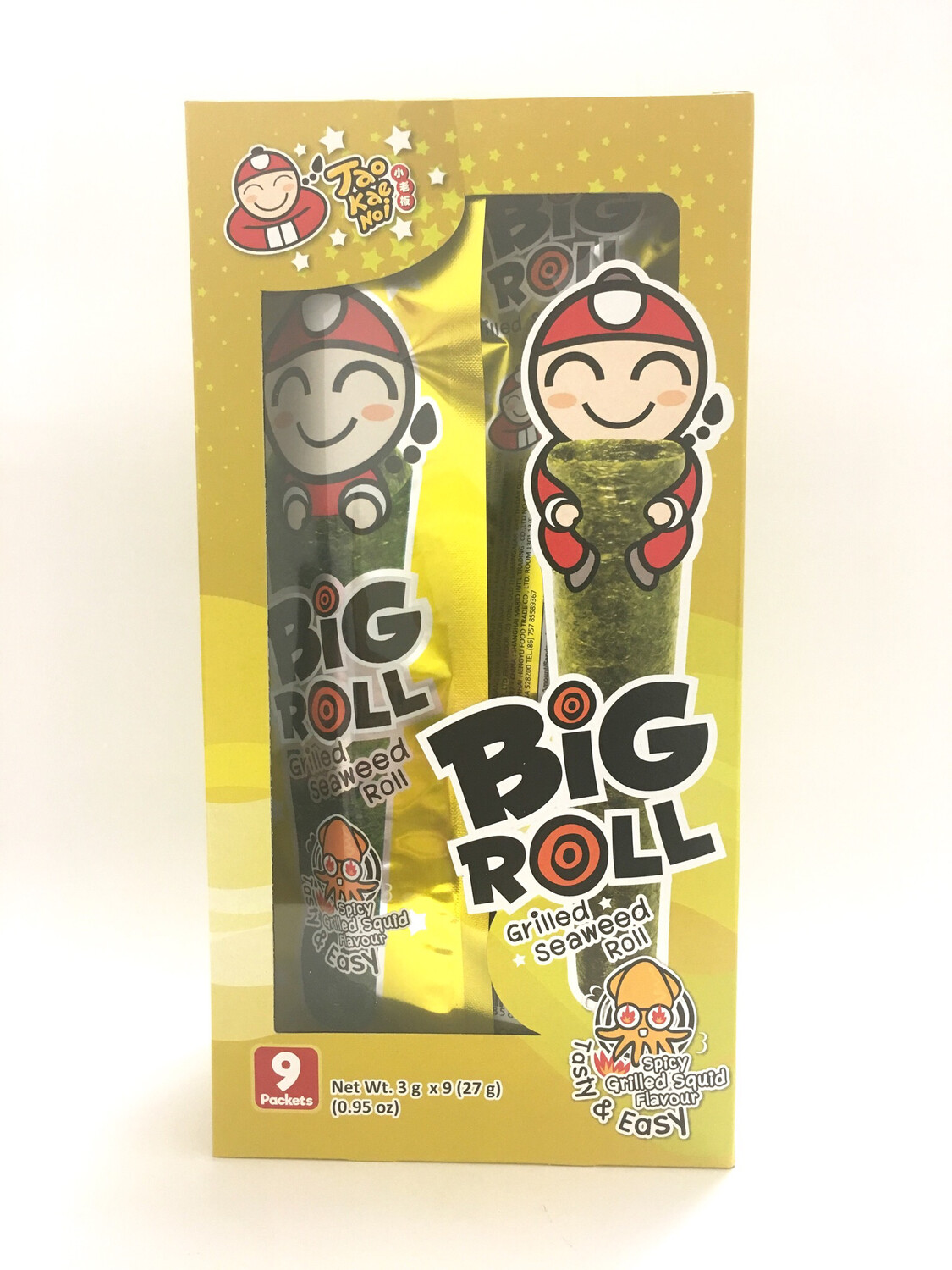 TKN BIG ROLL (SQUID) 12BOXES X 9PKS X 3G