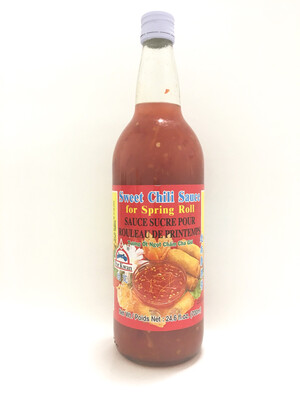 PORKWAN SWEET CHILI SAUCE FOR SPRING ROLL 12X700ML