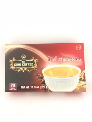 TNI KING COFFEE 3IN1 (BOX) 24X320G