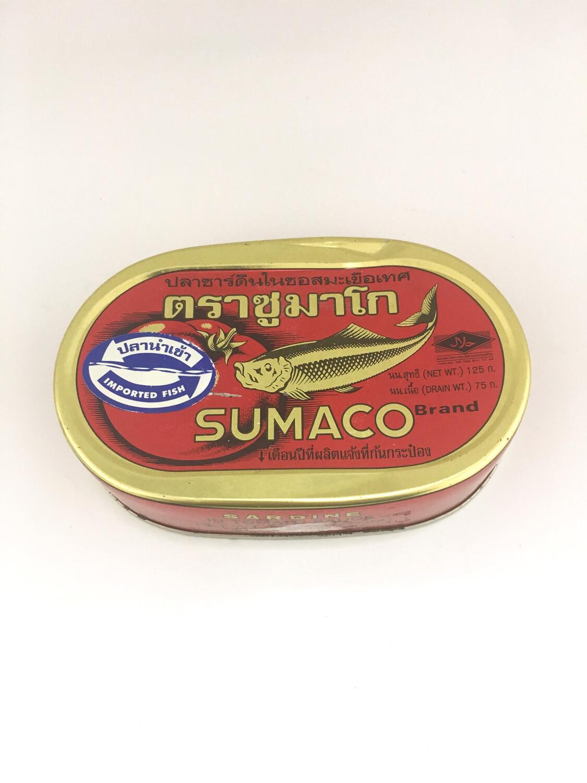 SUMACO SARDINES 100X125G