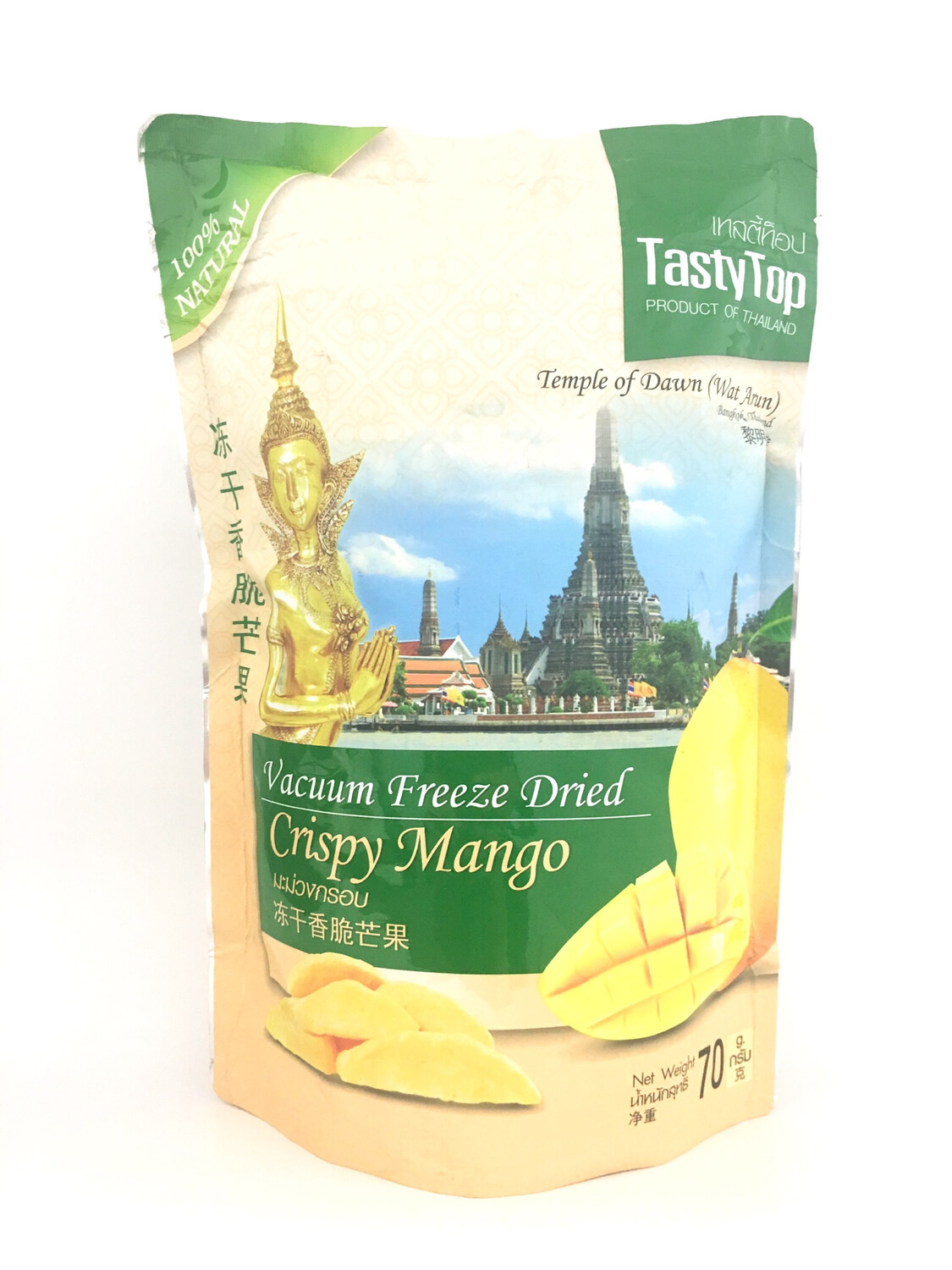 TASTY TOP CRISPY MANGO 36X70G