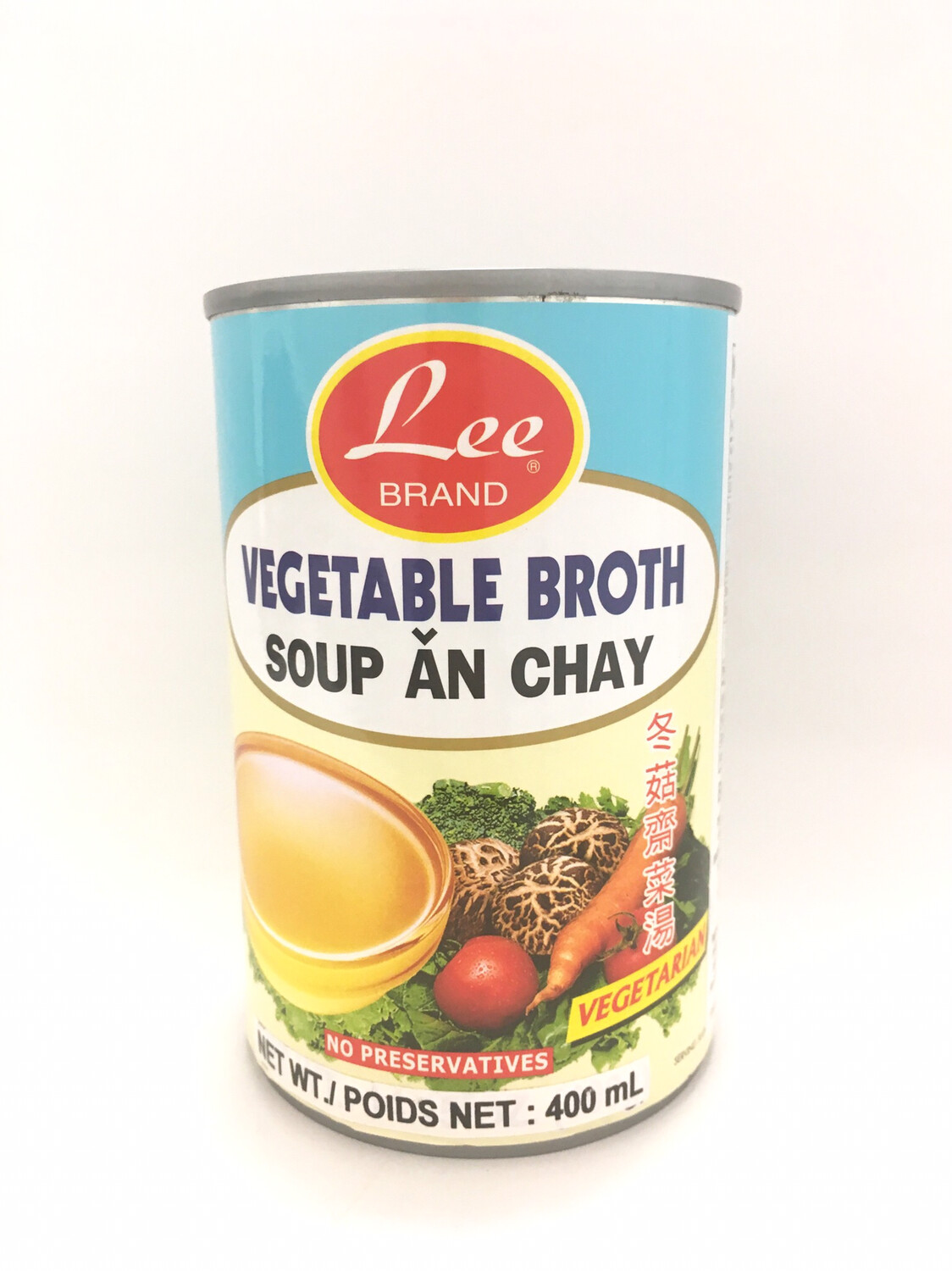 LEE VEGETABLE BROTH 24X400ML
