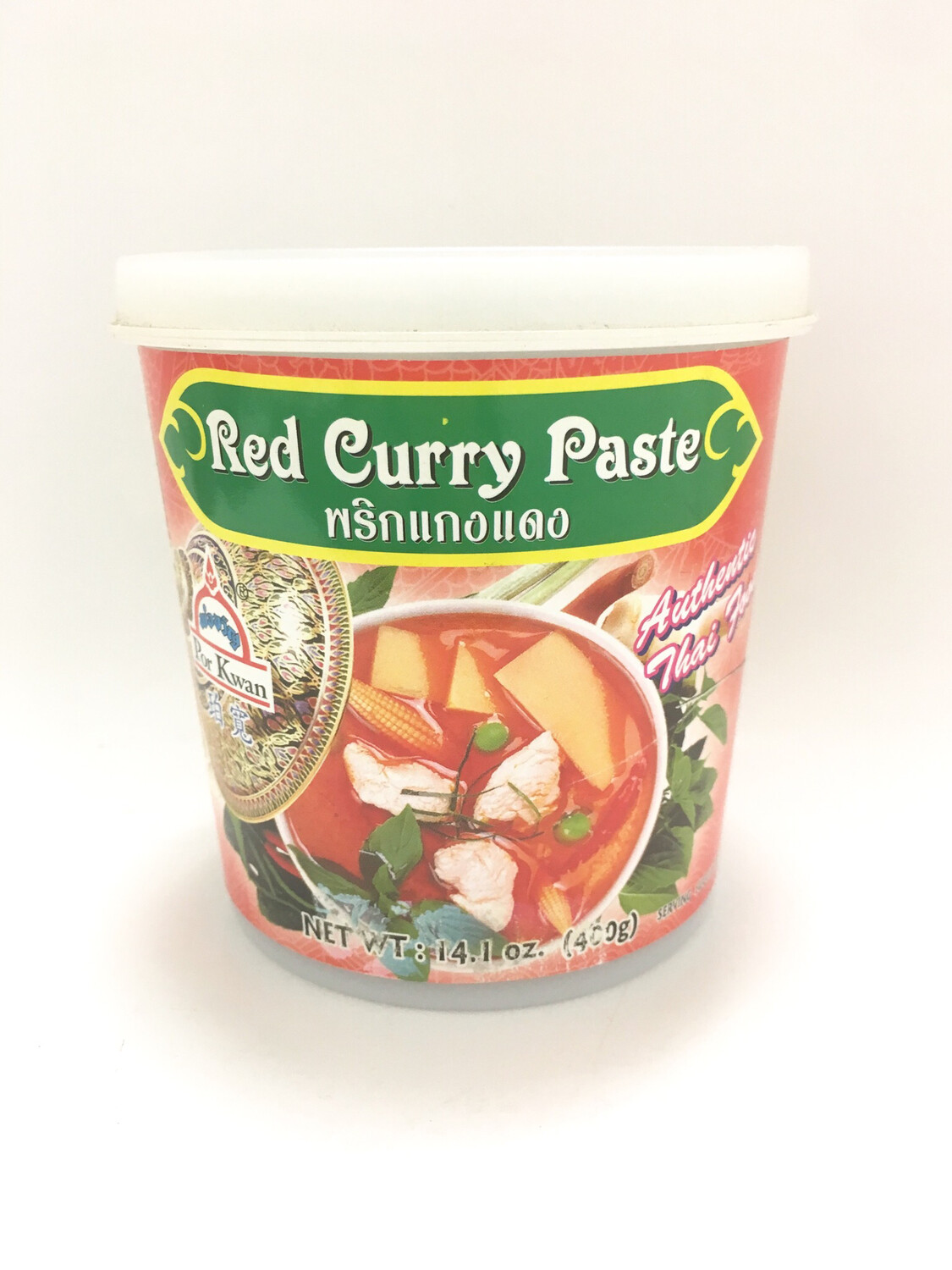 PORKWAN RED CURRY PASTE 6X400G