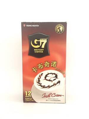 TRUNG NGUYEN G7 INSTANT COFFEE CAPPUCCINO - IRIS 24X216G
