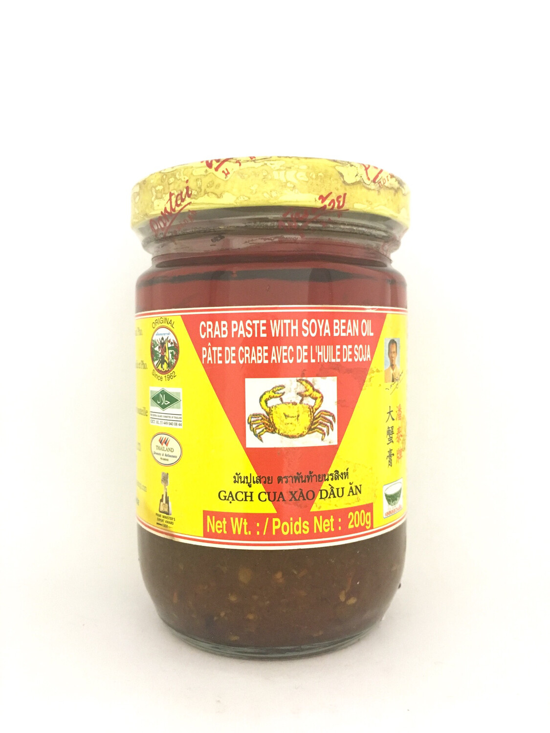 PANTAI CRAB PASTE WITH SOYA BEAN OIL 24X200G