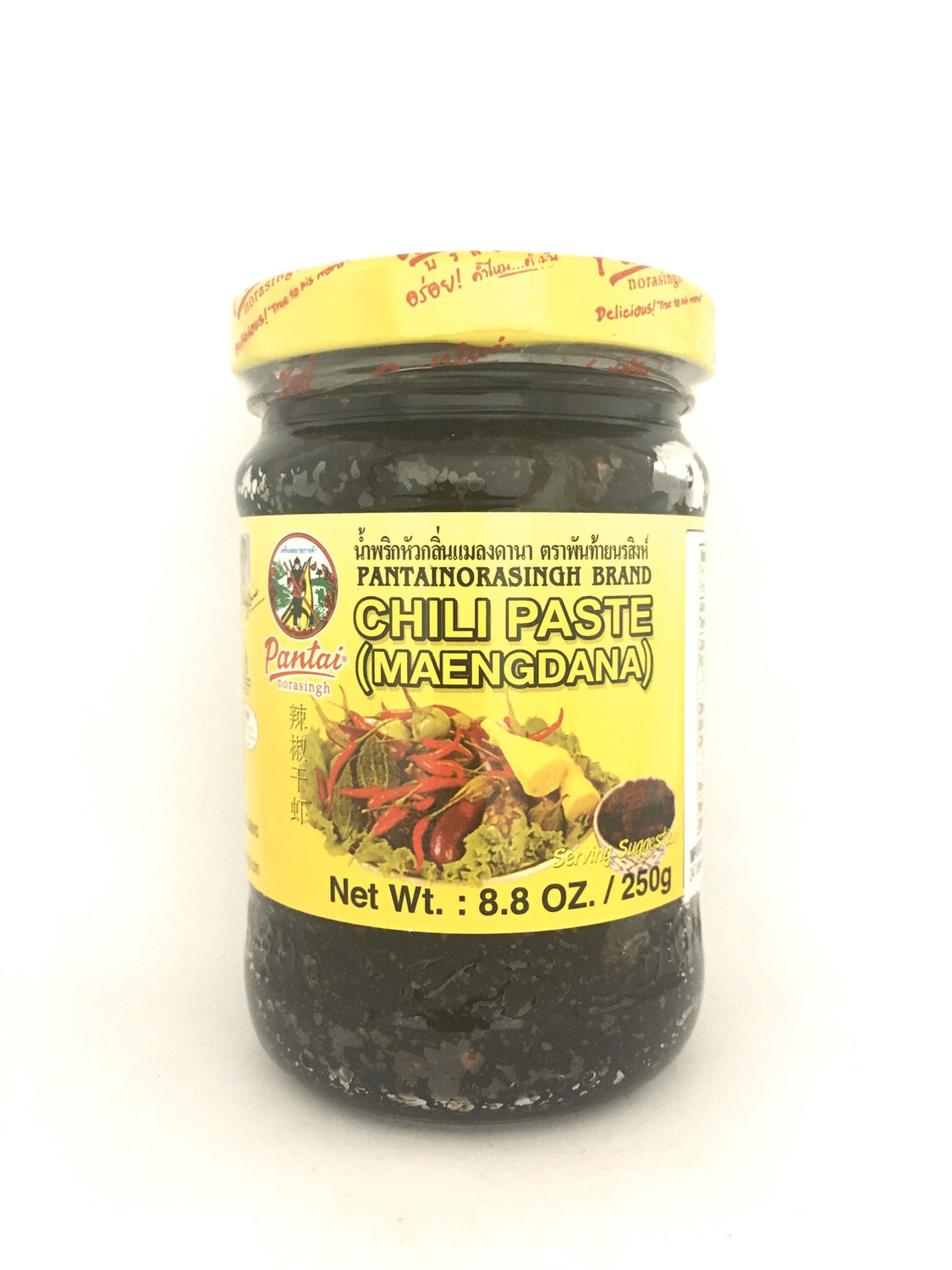 PANTAI CHILI PASTE (MAENGDANA) 12X250G