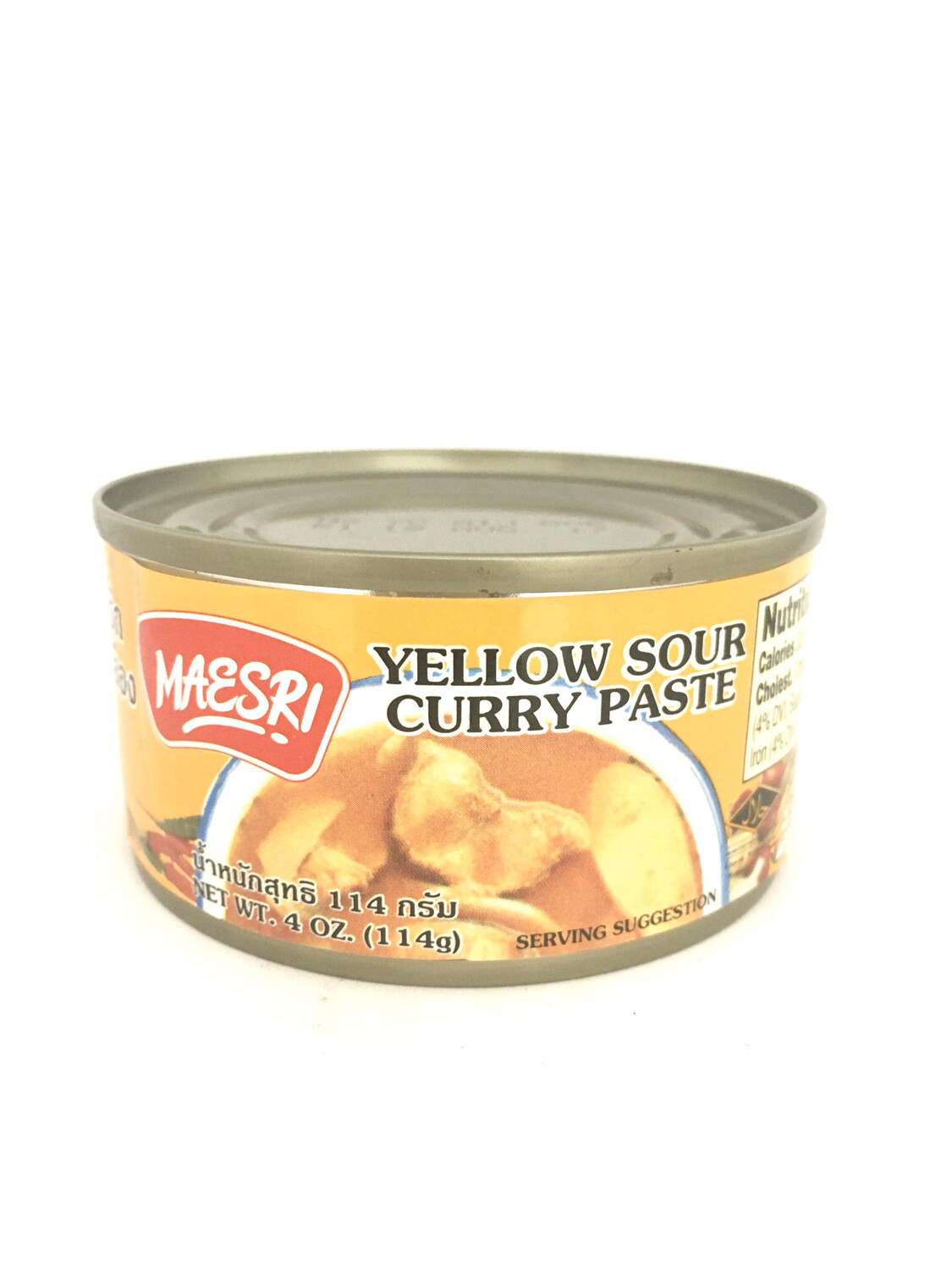 MAESRI YELLOW CURRY PASTE 48X114G