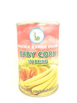 PHOENIX BABY CORN IN BRINE 24X15OZ