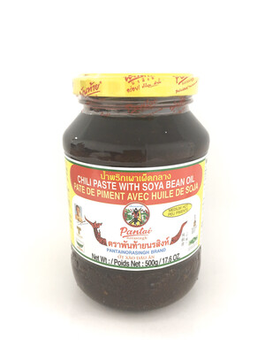 PANTAI CHILI PASTE WITH SOYA BEAN OIL 12X500G