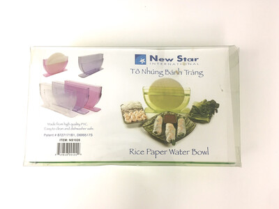 NEW STAR RICE PAPER WATER BOWL 24PCS