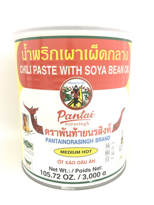 PANTAI CHILI PASTE WITH SOYA BEAN OIL 4X3KG