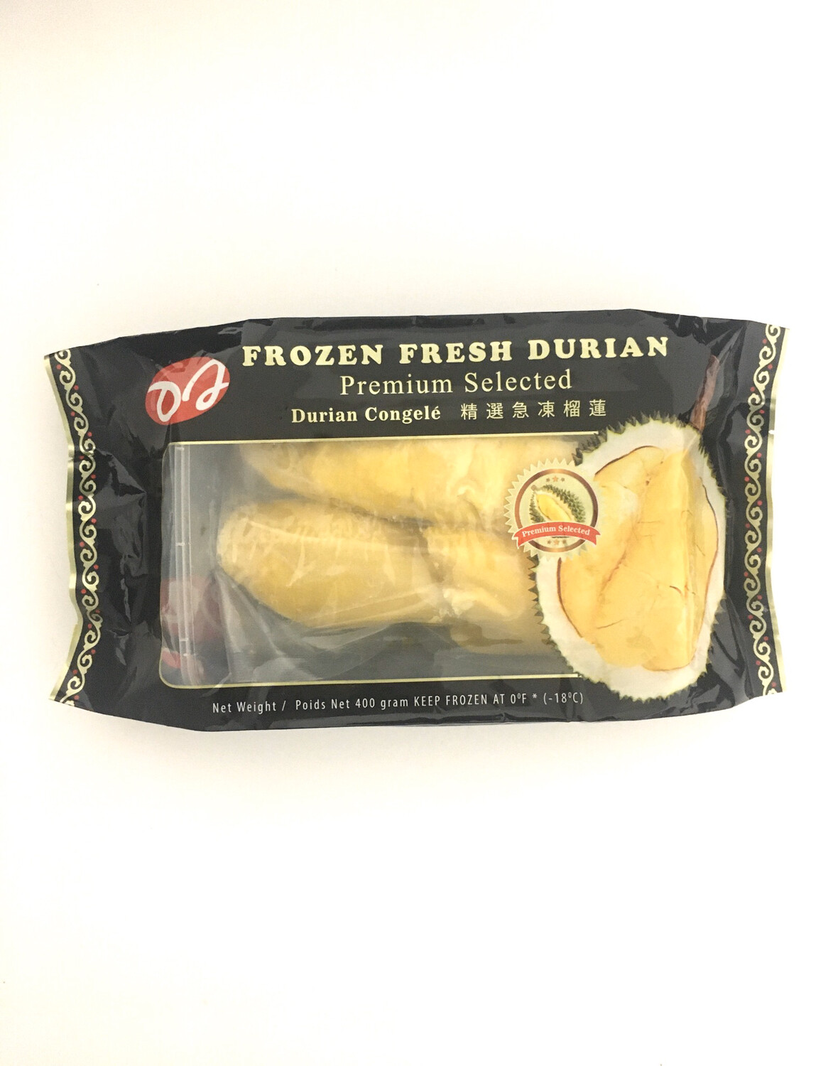 DJ FROZEN DURIAN WITH SEED 24X400G