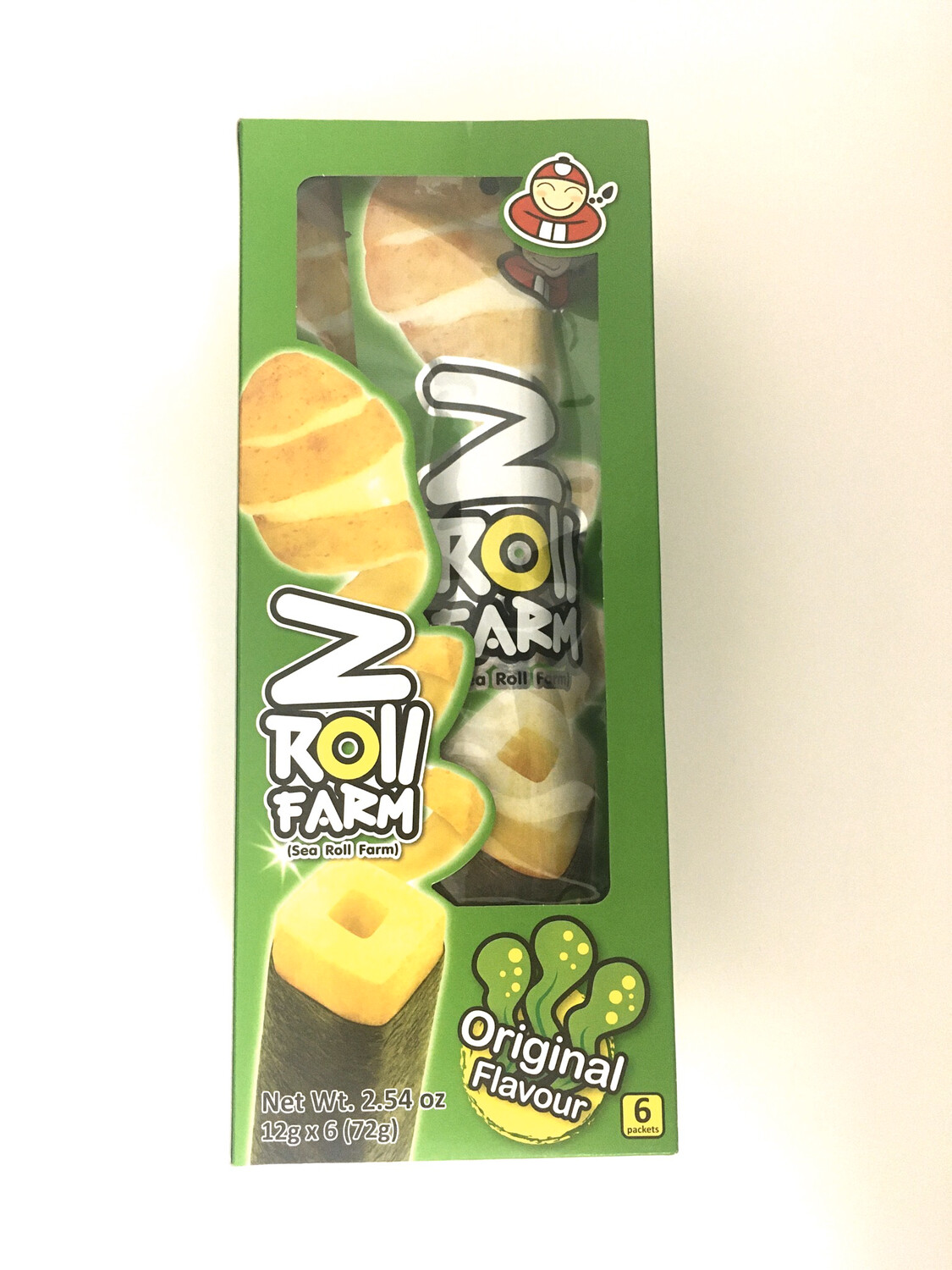 TKN Z ROLL FARM POTATO STICK WRAPPED W/ORIGINAL 12Bx X 6PK X 12G