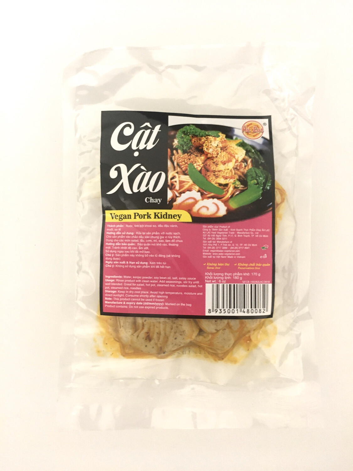 AU LAC VEGAN PORK KIDNEY 20X180G