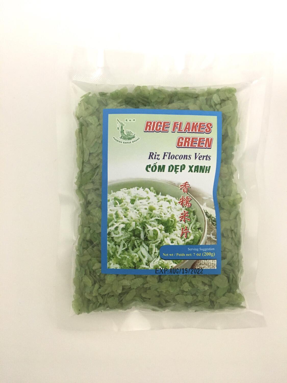 PHOENIX GREEN RICE FLAKES 24X200G