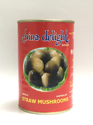 CHINA DELIGHT STRAW MUSHROOM 24X15OZ