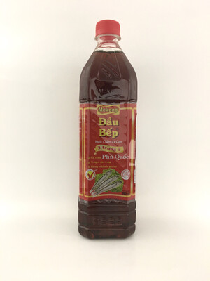 MEKONG CHELF LONG-JAWED ANCHOVY FISH SAUCE 15X900ML