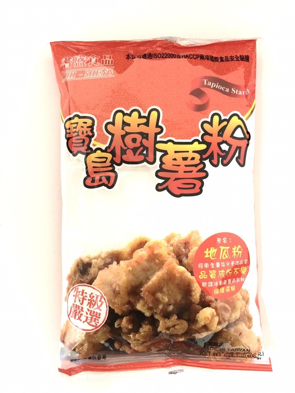 CHI-SHENG TAPIOCA STARCH 薯粉20X400G