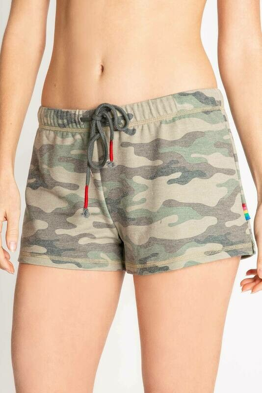 PJ Salvage Camo Draw String Pajama Lounge Short Size L and XL