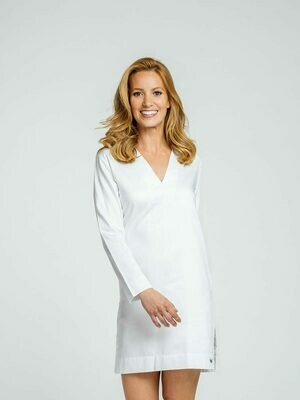 Royal Highney 400 Pima Cotton Ladies PJ Tunic  Size XS , M