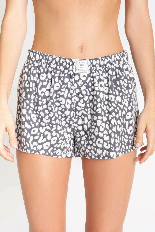 PJ Salvage Chelsea Leopard Soft Cotton Twill Pajama Short  Size XL