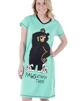 Pawsitivley Tired Sleepshirt