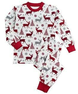 Saras Prints Super Soft Holiday Pajama Set  size 2 Only 1 left
