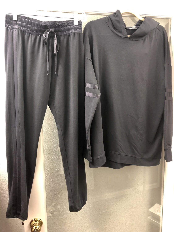 PJ Harlow Charcoal Loungewear Blythe Jogger Size XL