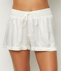 PJ Harlow Pearl Satin Pajama Short - see colors offered