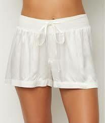 PJ Harlow Pearl Satin Pajama Short - see colors offered