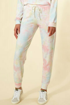 PJ Salvage Womens Tie Dye PJ Loungewear Jogger Pants  Size XL    Only 3 left