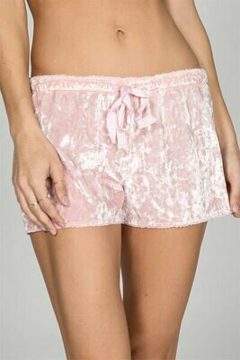 PJ Salvage Crushin It Pink or Grey Draw String PJ Short Size L and XL  See Colors and Sizes