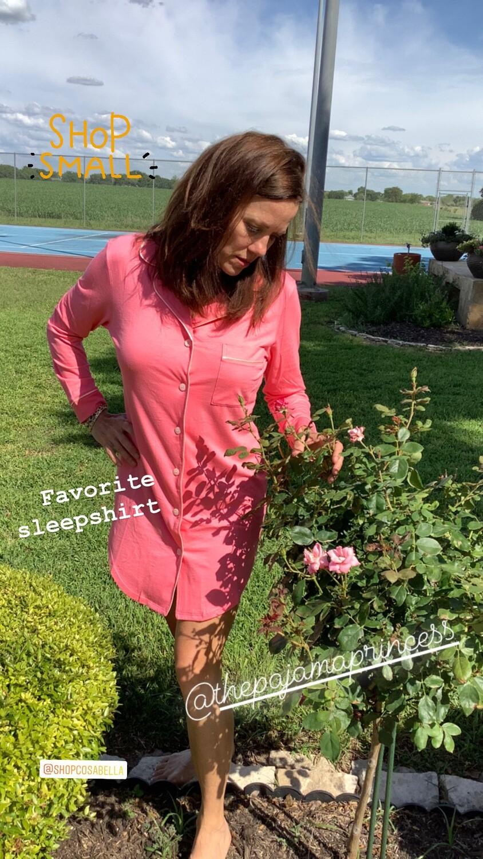 Quartz Pink Nightshirt  Size M, L