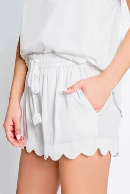 PJ Salvage Sunset Vibes Shorts:  White Size M