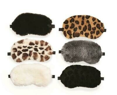 Faux Fur Sleep Masks