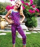 Esme Blue Cheetah PJ Set  Size 2