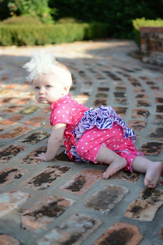Laura Dare Pink and Purple Zebra PJ Set  Size 24month