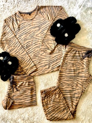PJ Salvage Wild One Tiger Pajama Lounge Pants