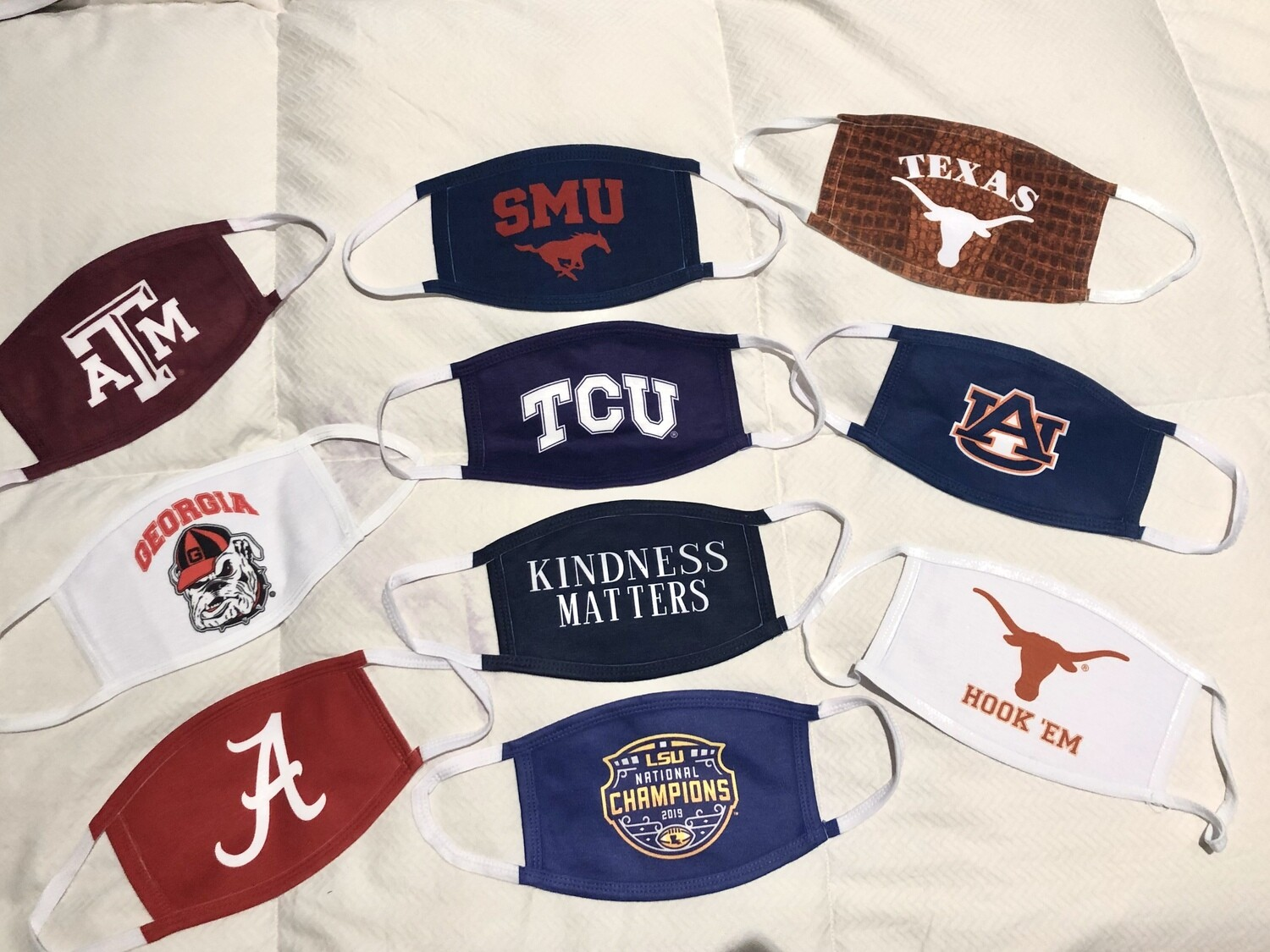 A&M Mask.   Only 3 Left