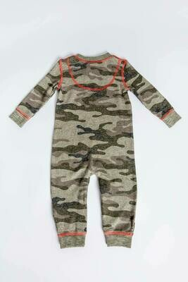 PJ Salvage Command Camo Infant Romper - Mother/Daughter/Son  Size 3/6, 6/12M, 12/18M
