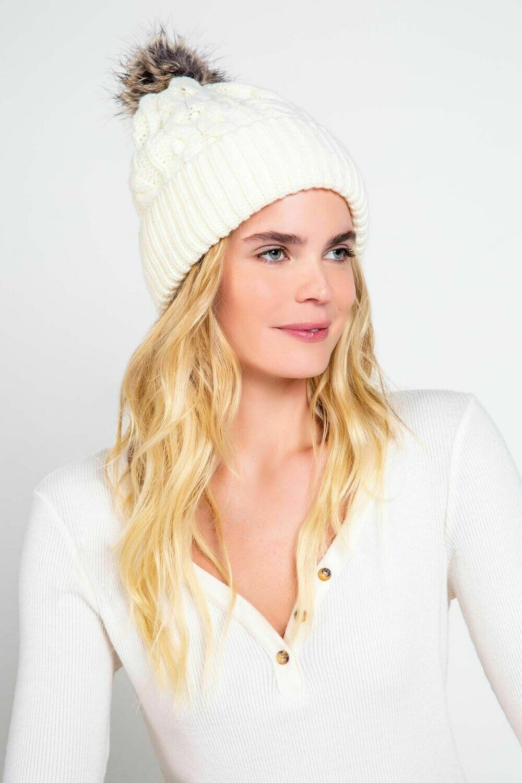 Bring on the Cream Beanie Hat