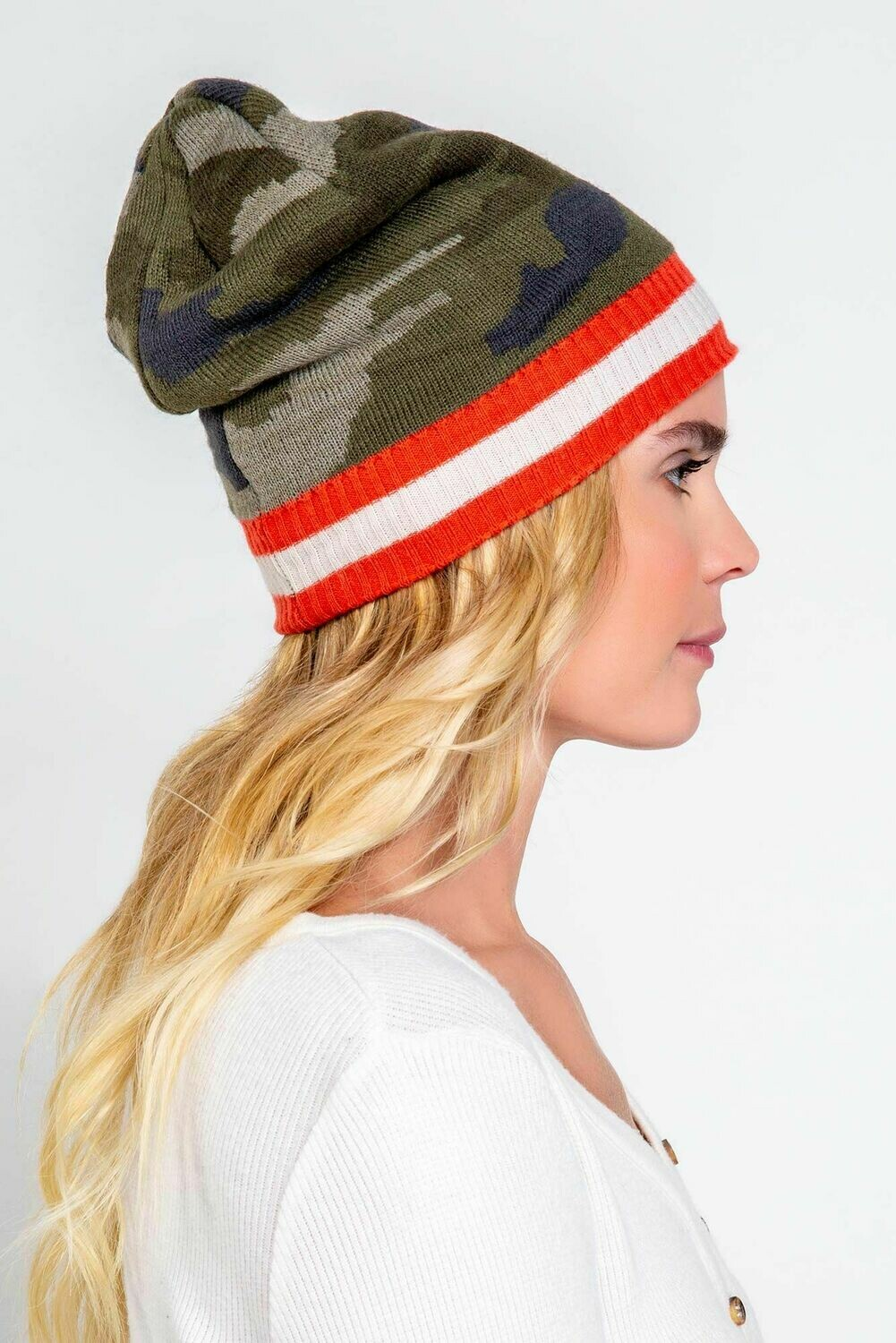 Bring on the Camo Beanie Hat