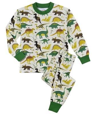 Saras Prints Super Soft Dinosaur Pajama Set