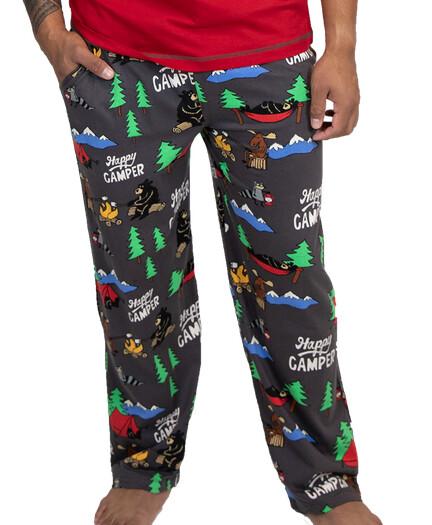 Happy Camper Grey Unisex Lounge Pants    XS- XXL