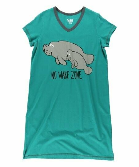 No Wake Zone Sleepshirt