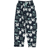 Yeti for Bed Blue Unisex Lounge Pants Size XS, XL