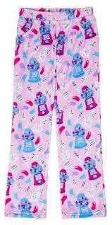 Bubble Gum Fleece Pajama PJ Pants Size 14/16 Only 1 left